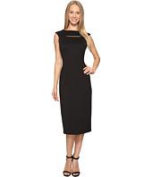 Calvin Klein - Cap Sleeve Midi Dress with Cut Out CD7M1X2X