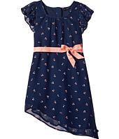 Tommy Hilfiger Kids - Cherry Printed Chiffon Dress (Little Kids)