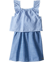 Tommy Hilfiger Kids - Two-Tone Chambray Top/Skirt Dress (Little Kids)