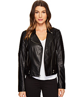 "Marc New York by Andrew Marc - Leanne Lightweight Vegan Leather 20"" Jacket"