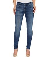 Mavi Jeans - Adriana Mid-Rise Super Skinny in Dark Used Gold Vintage