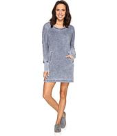 Allen Allen - Long Sleeve Dolman Two-Pocket Dress