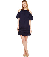 Maggy London - Cold-Shoulder Shift Dress