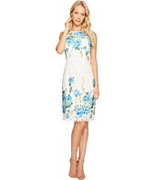 Maggy London - Print Chemical Lace Sheath Dress