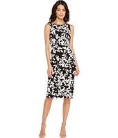 Maggy London - Midi Sheath Dress with Cutouts