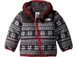 TNF White Holiday Fair Isle Print