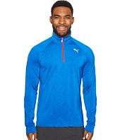 PUMA - Core-Run Long Sleeve 1/2 Zip Tee