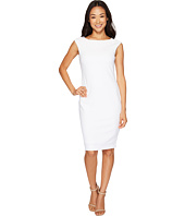Tahari by ASL Petite - Petite Scuba Crepe Sheath Dress