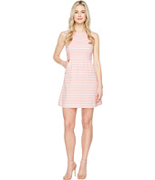 Jessica Simpson - Stripped Tweed Fit and Flare Dress