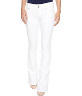 Hudson - Signature Bootcut Flap Pocket Jeans in White