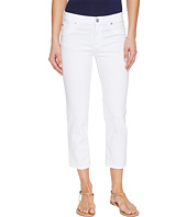 Hudson - Fallon Crop in White