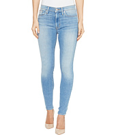 Hudson - Barbara High Waist Super Skinny Ankle Five-Pocket Jeans in Reality