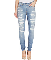 Hudson - Nico Mid-Rise Super Skinny Five-Pocket Jeans in Southpaw