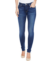 Hudson - Nico Mid-Rise Supermodel Skinny Five-Pocket Jeans in Blue Gold