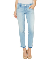 Hudson - Collin Skinny Crop Released Hem Flap Pocket Jeans in Light Azure