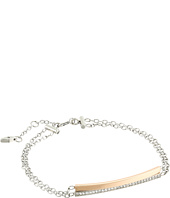 Fossil - Glitz Double Bar Bracelet