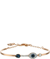 Swarovski - Duo Bangle Evil Eye Bracelet
