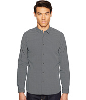 The Kooples - Printed Small Flowers Snap Buttons Classic Shirt