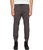 The Kooples - Jogging Trousers with Kneepads and Front Zip Pockets
