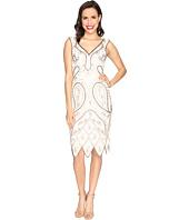 Unique Vintage - Malvina Beaded Flapper Dress