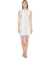 Calvin Klein - Sleeveless Stripe Trapeze Dress CD7EYC2R
