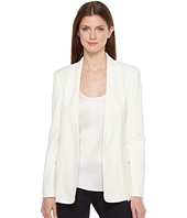 Halston Heritage - Long Sleeve Jacket w/ Notch Detail