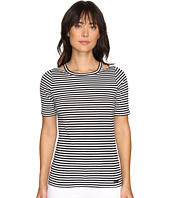 MICHAEL Michael Kors - Stripe Detached Neck Top