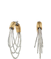 Robert Lee Morris - Wire Wrapped Multi Row Hoop Earrings