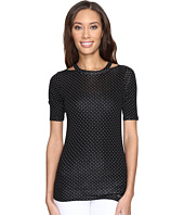 MICHAEL Michael Kors - Dot Detached Neck Top