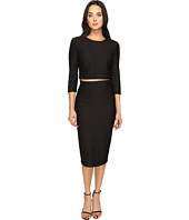 Donna Morgan - Knit Jacquard Two-Piece