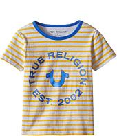 True Religion Kids - Heather Jersey Stripe Tee (Toddler/Little Kids)