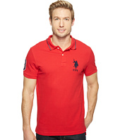 U.S. POLO ASSN. - Slim Fit Short Sleeve Pique Polo Shirt