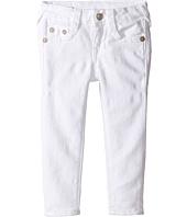 True Religion Kids - Casey Ankle Skinny in White (Toddler/Little Kids)