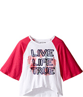 True Religion Kids - Drape Baseball Tee (Big Kids)