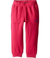 True Religion Kids - Branded Cropped Sweatpants (Toddler/Little Kids)