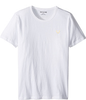 True Religion Kids - Gold Buddha Logo Tee (Big Kids)
