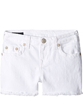 True Religion Kids - Joey Shorts in White (Big Kids)