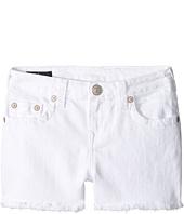 True Religion Kids - Joey Shorts in White (Big Kids)