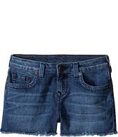 True Religion Kids - Joey Raw Edge Shorts in Shabori (Big Kids)