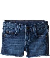 True Religion Kids - Joey Raw Edge Shorts in Shabori (Toddler/Little Kids)
