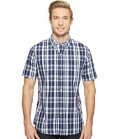 U.S. POLO ASSN. - Striped, Plaid or Print Single Pocket Slim Fit Sport Shirt