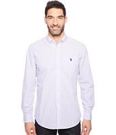 U.S. POLO ASSN. - Stripe, Plaid or Print Long Sleeve Single Pocket Sport Shirt