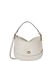 COACH - Pebbled Turnlock Hobo