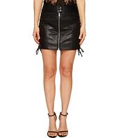 McQ - Eyelet Biker Skirt