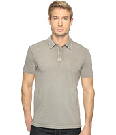 John Varvatos Star U.S.A. - Reverse Print Soft Collar Peace Polo with Peace Sign Chest Embroidery K1381T1B