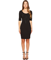 Versace Jeans - 3/4 Sleeve Scoop Neck Dress