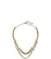 Lucky Brand - Beaded Leather Collar Necklace