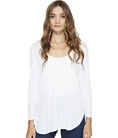 Michael Stars - Slub 3/4 Sleeve Scoop Neck Tee
