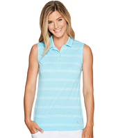 PUMA Golf - Pounce Stripe Sleeveless Polo Cresting