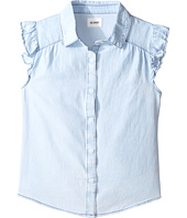 Hudson Kids - Chambray Ruffle Shirt (Big Kids)